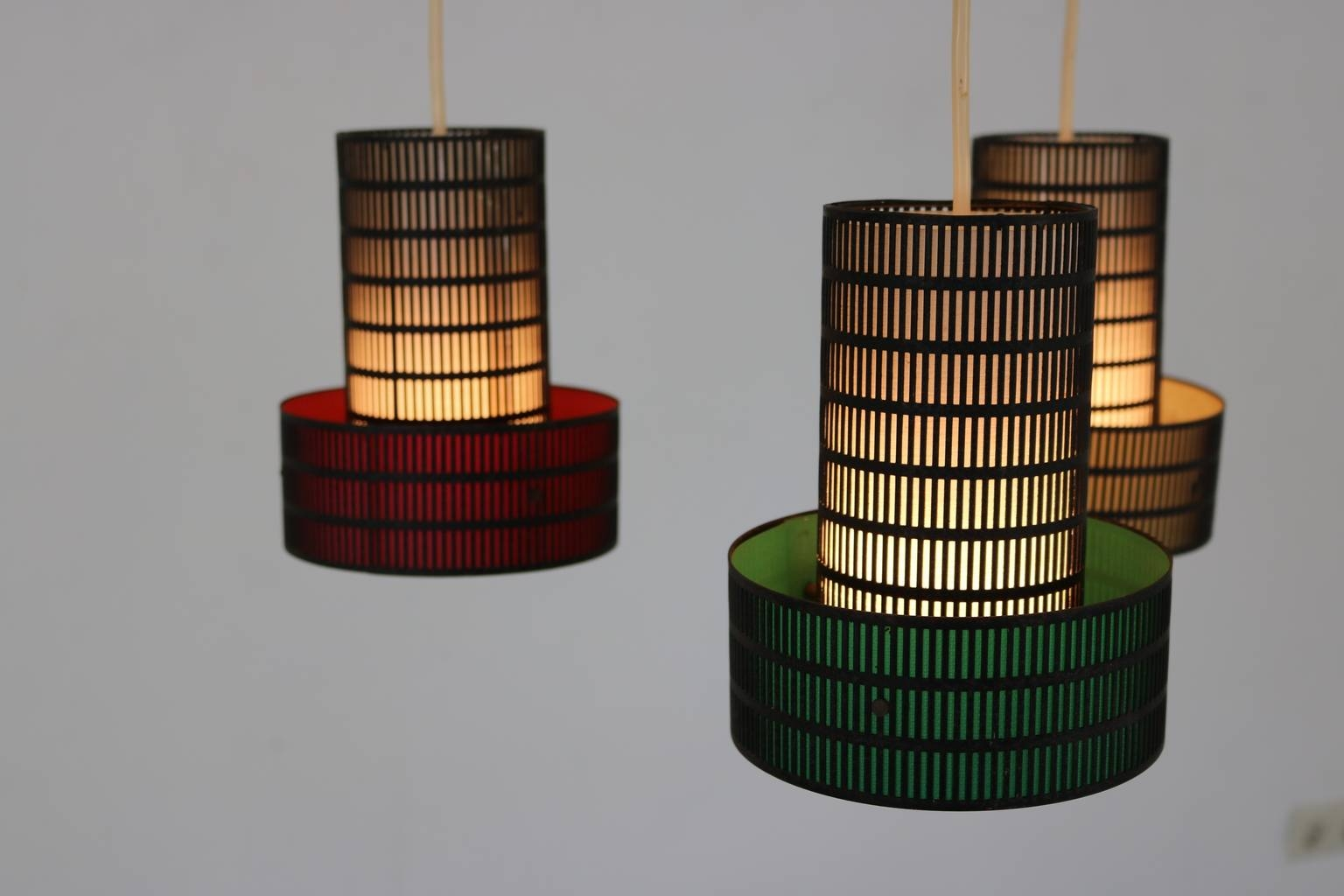 Danish Perforated Metal Pendant Light, 1965 For Sale At Pamono in Punched Metal Pendant Lights (Image 2 of 15)