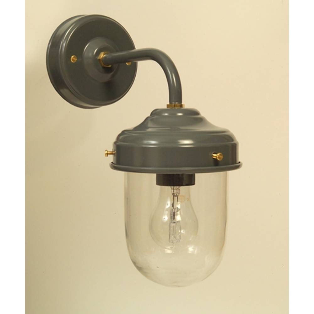 Dark Grey Stable Barn Outdoor Wall Light pertaining to Barn Lights Uk (Image 11 of 15)