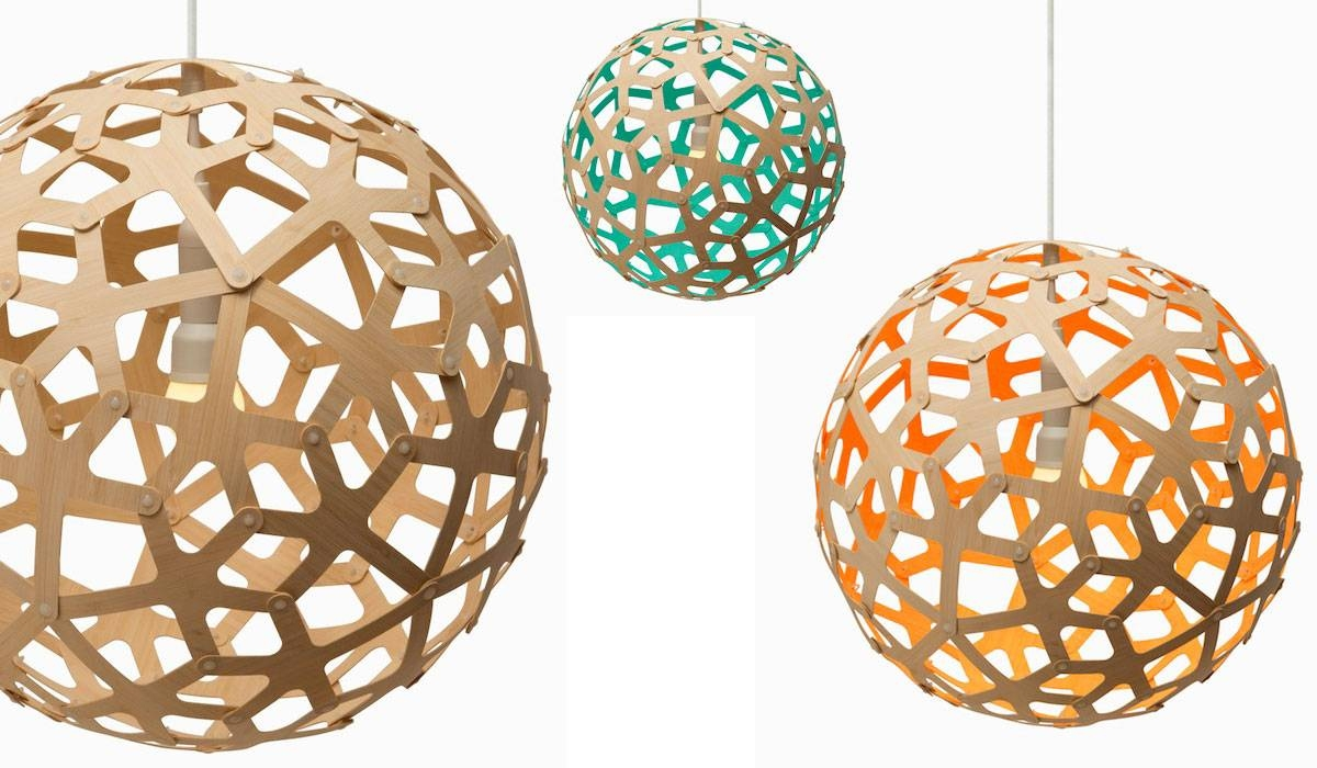 David Trubridge Resolves Dispute Over Fake Pendant Lamps – Design Pertaining To Coral Pendant Lights (View 8 of 15)
