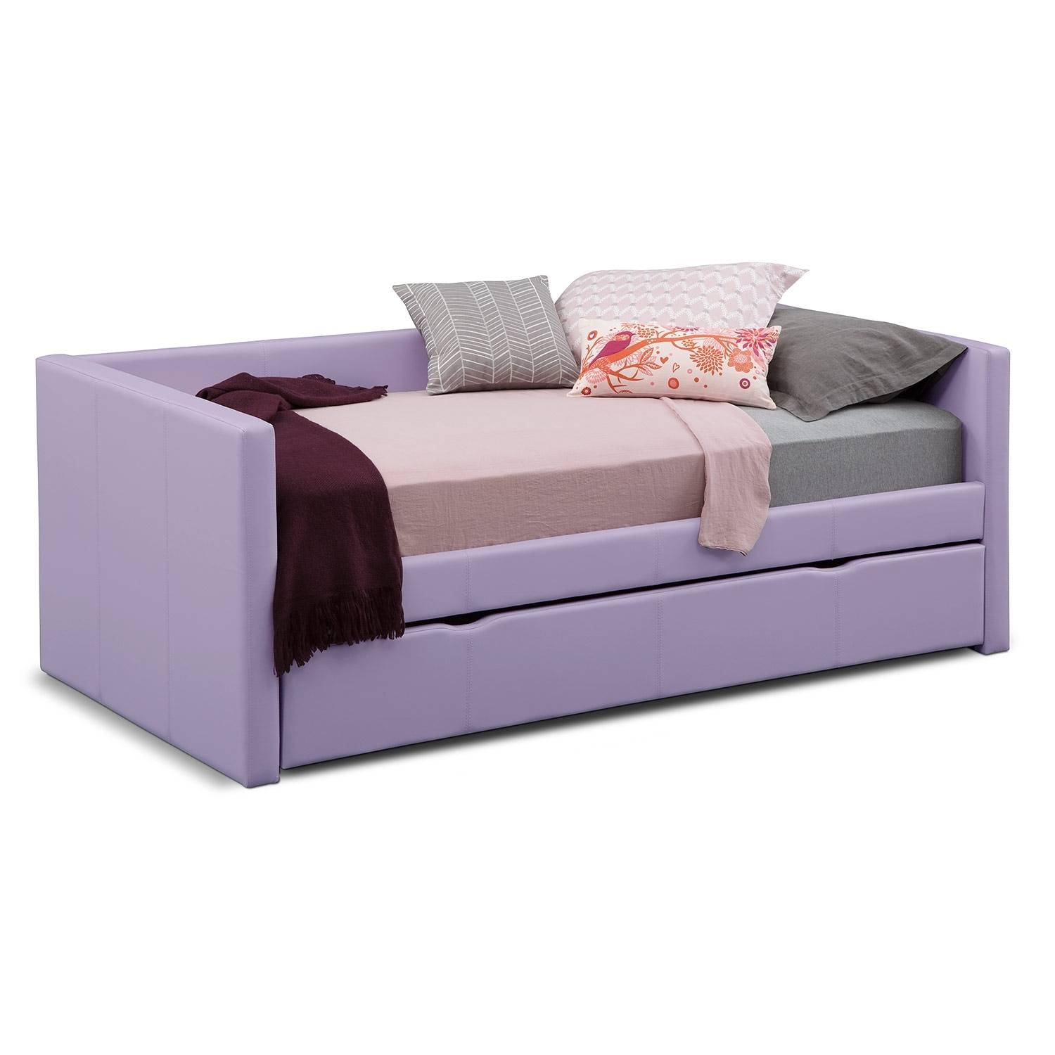 Daybeds & Trundle Beds | Bedroom Furniture | Value City Furniture Throughout Sofas Daybed With Trundle (View 4 of 15)