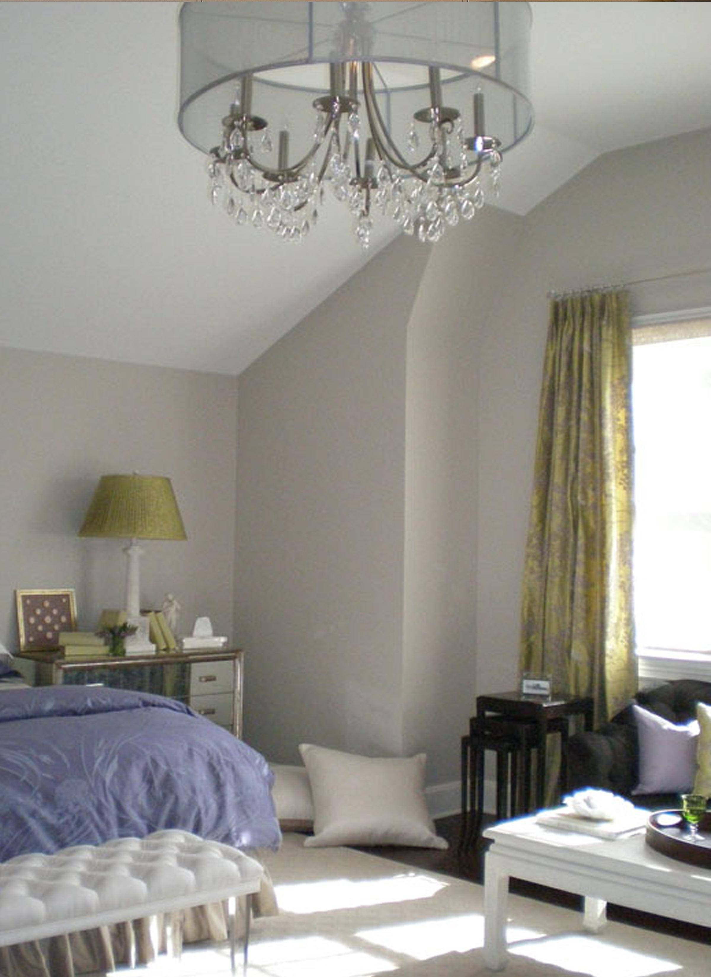 Decorating: Dress Up Your Sweet Home With Crystorama Chandelier regarding West Elm Drum Pendant Lights (Image 4 of 15)