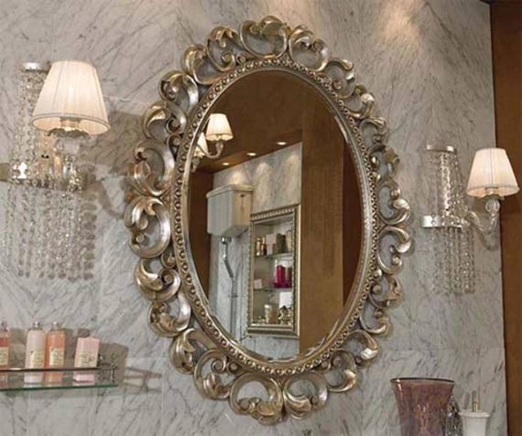 Decorative Bathroom Mirrors Creative Decoration Inspirations For regarding Long Decorative Mirrors (Image 2 of 15)