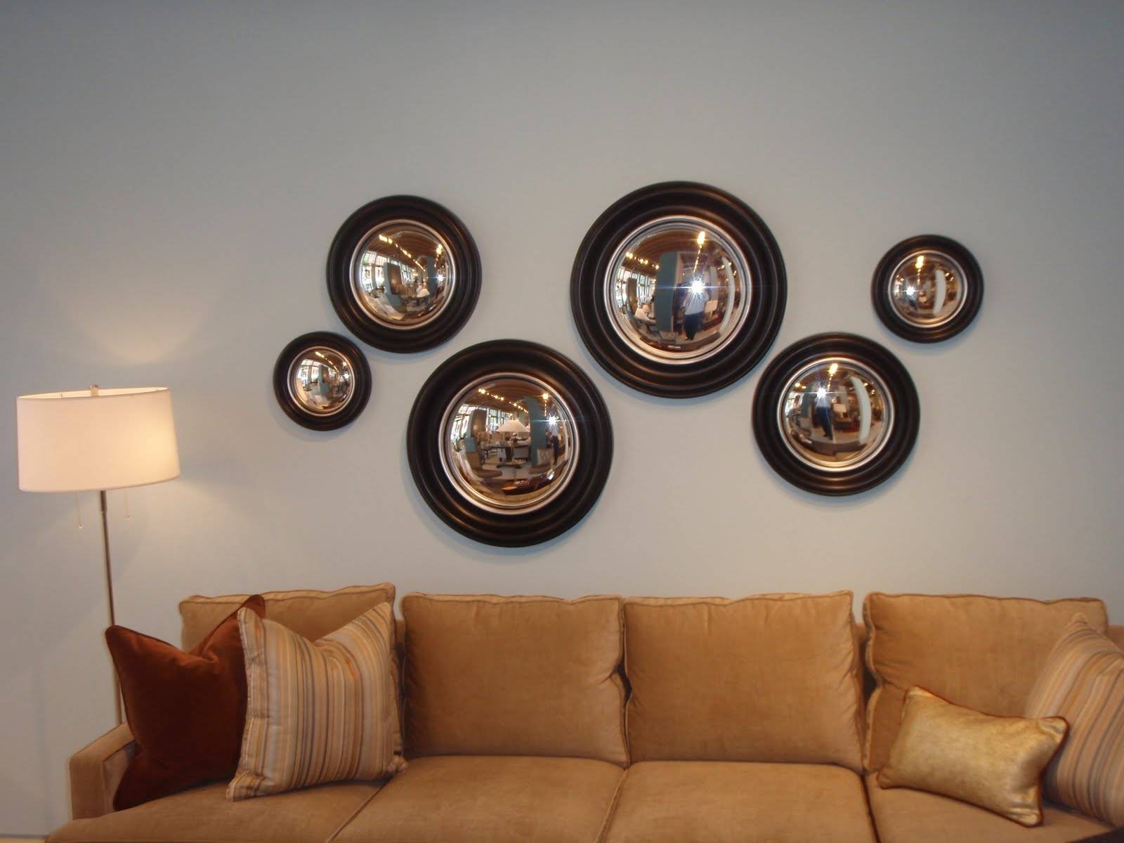 Decorative Convex Mirror Photos inside Convex Decorative Mirrors (Image 2 of 15)