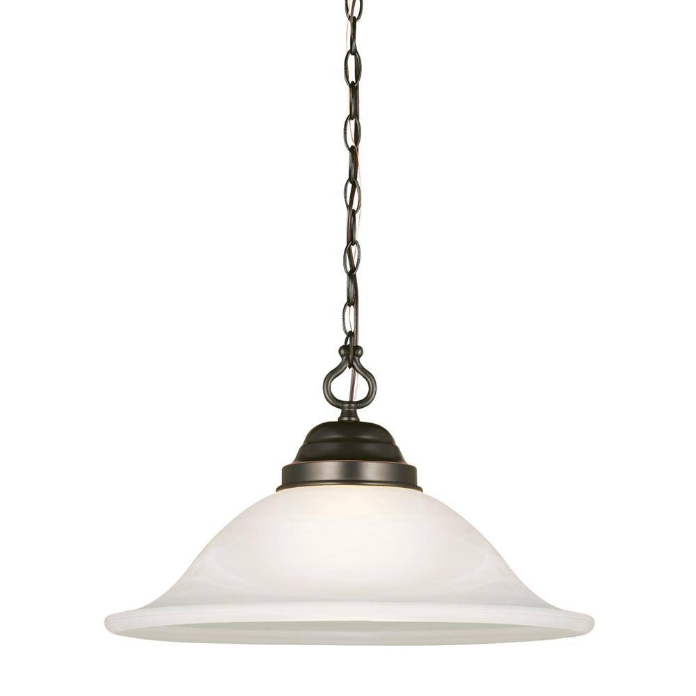 Design House - Pendant Lights - Hanging Lights - The Home Depot pertaining to Scalloped Pendant Lights (Image 5 of 15)