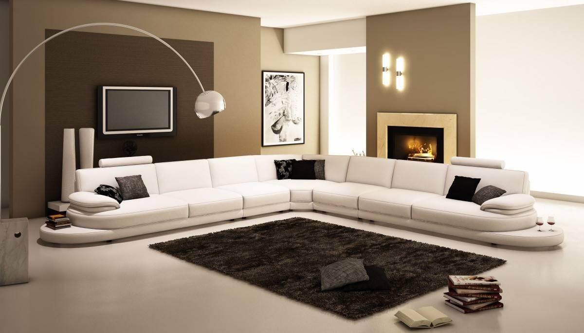 Design Of Extra Large Sectional Sofa — Home Design Stylinghome for Extra Large Leather Sectional Sofas (Image 2 of 15)