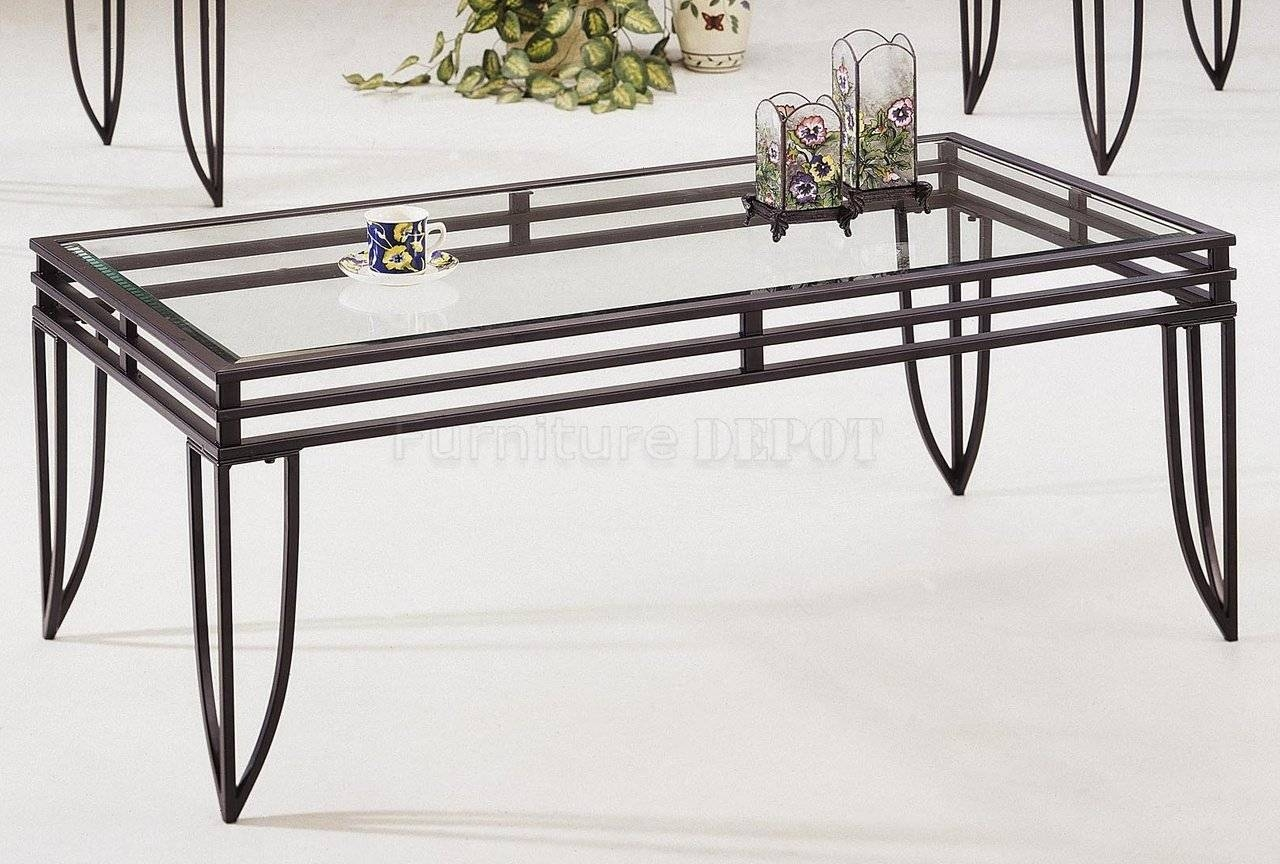 Design Of Iron And Glass Coffee Table With Coffee Table Wonderful Throughout Iron Glass Coffee Table (View 6 of 15)