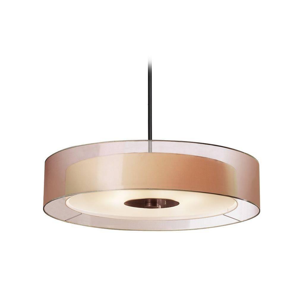 Designer Drum Pendant Lights | Destination Lighting within Drum Pendant Lighting (Image 4 of 15)