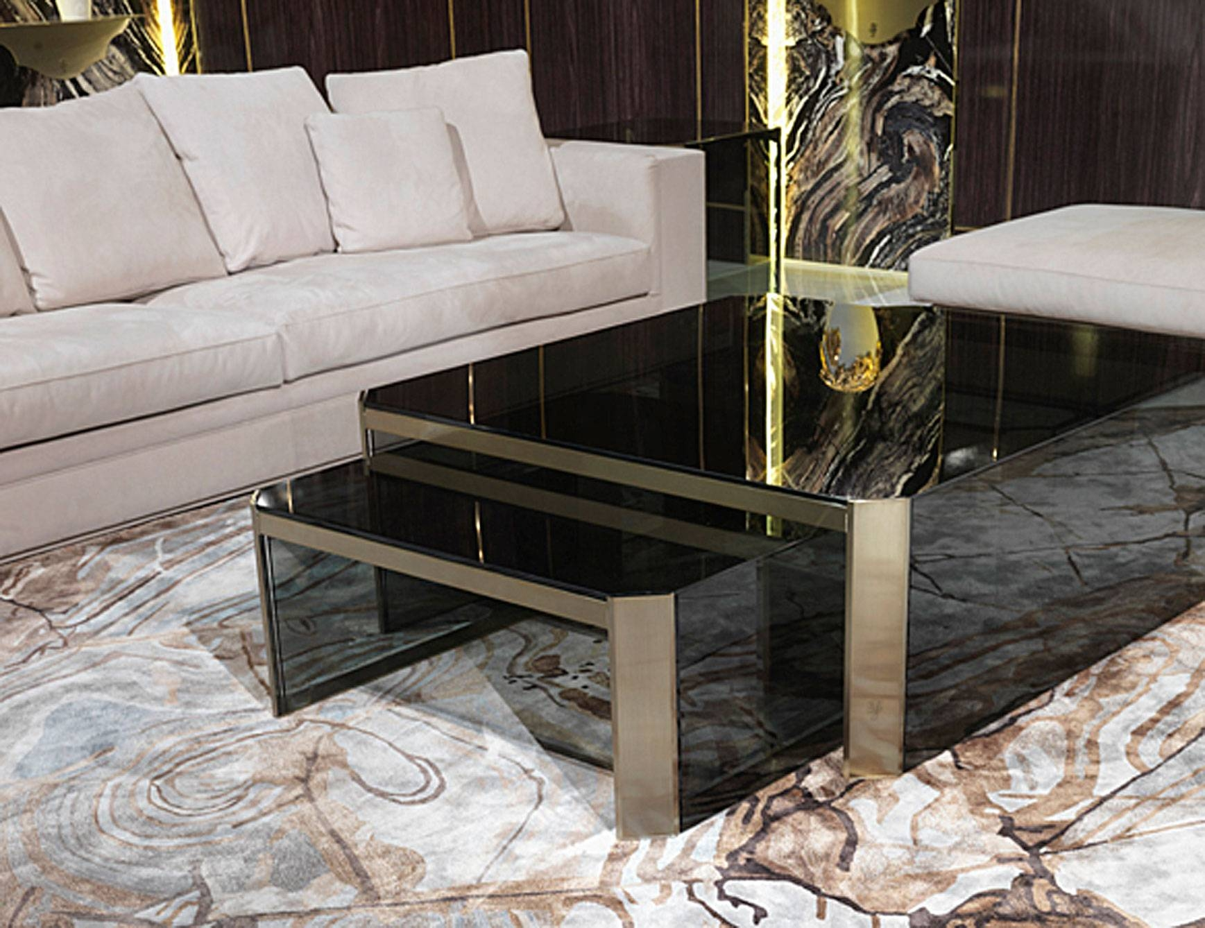 Designer Italian Luxury High End Coffee Tables: Nella Vetrina with regard  to Luxury Coffee Tables