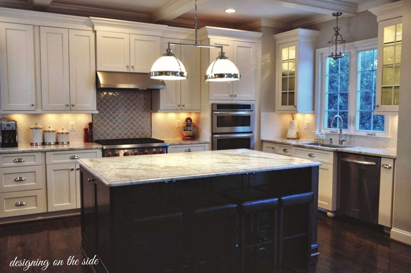 Designing On The Side: The Kitchen Of My Dreams….literally within Clemson Pendant Lights (Image 6 of 15)