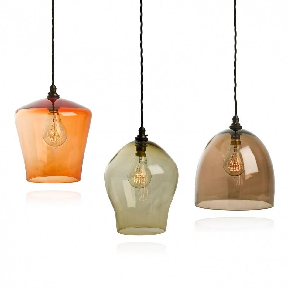 Designing Pendant Light Shades Glass   Best Home Decor Inspirations inside Small Glass Pendant Lights (Image 6 of 15)