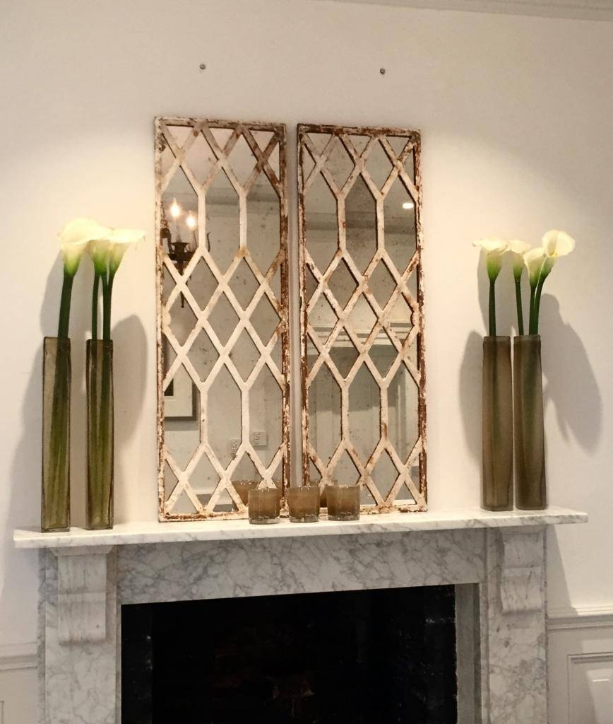 Diamond Design Rustic Window Mirrors Architectural -Window-Mirrors pertaining to Window Mirrors (Image 9 of 15)