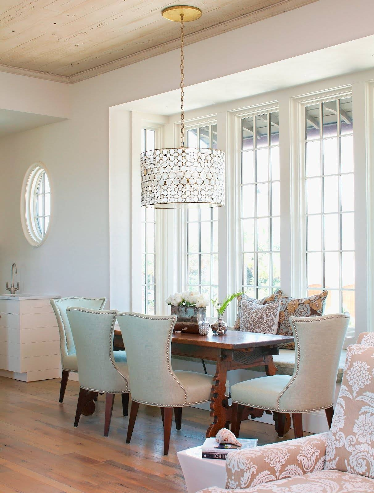 Dining Room Drum Chandelier - Provisionsdining pertaining to Ikea Drum Lights (Image 5 of 15)