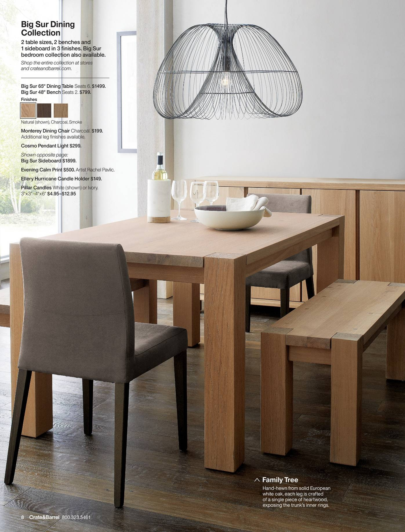 Dining Set: Classy And Comfortable Dining Table Styles With Crate regarding Crate and Barrel Pendant Lights (Image 11 of 15)