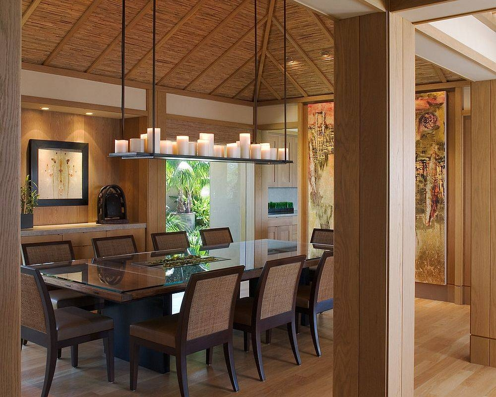 Dinning Rooms : Awesome Japanese Style Dining Room With Small with regard to Asian Style Pendant Lights (Image 9 of 15)