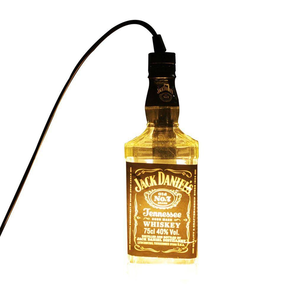 Discount Led Pendant Lamp Transparent Jack Daniels Liquor Bottle within  Liquor Bottle Pendant Lights (Image