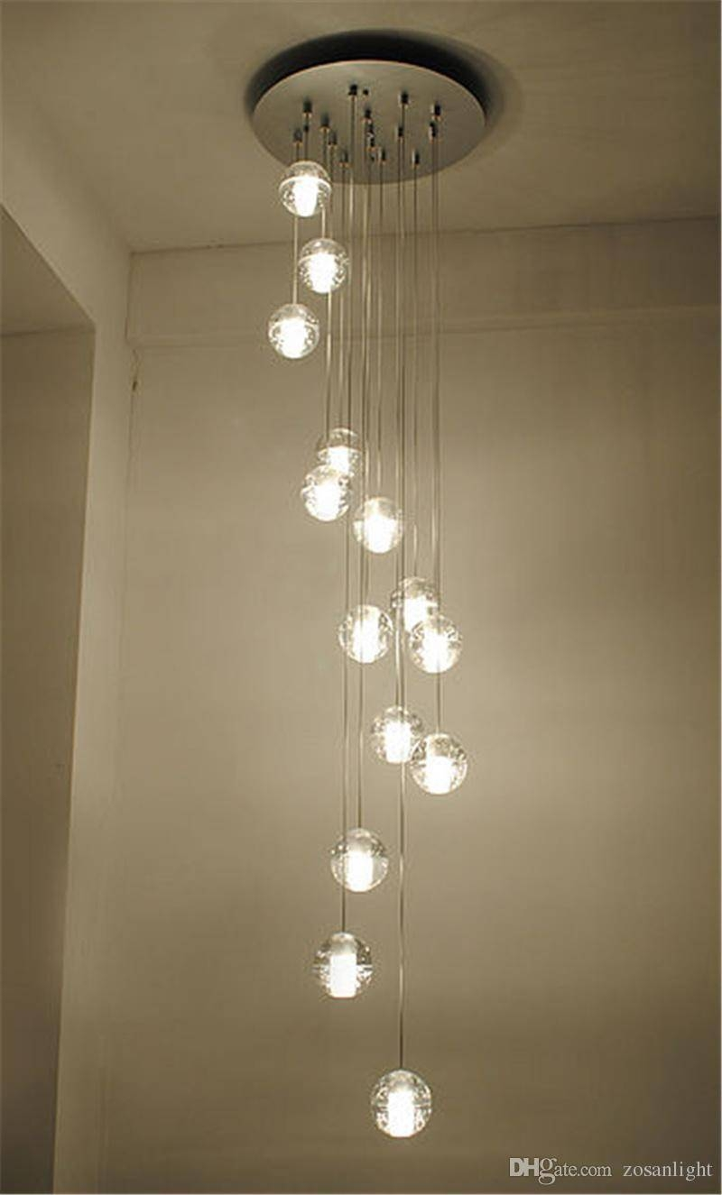 Discount Led Pendant Lamps Meteor Rain Ceiling Light Cheap G4 with regard to Crystal Pendant Lights (Image 9 of 15)