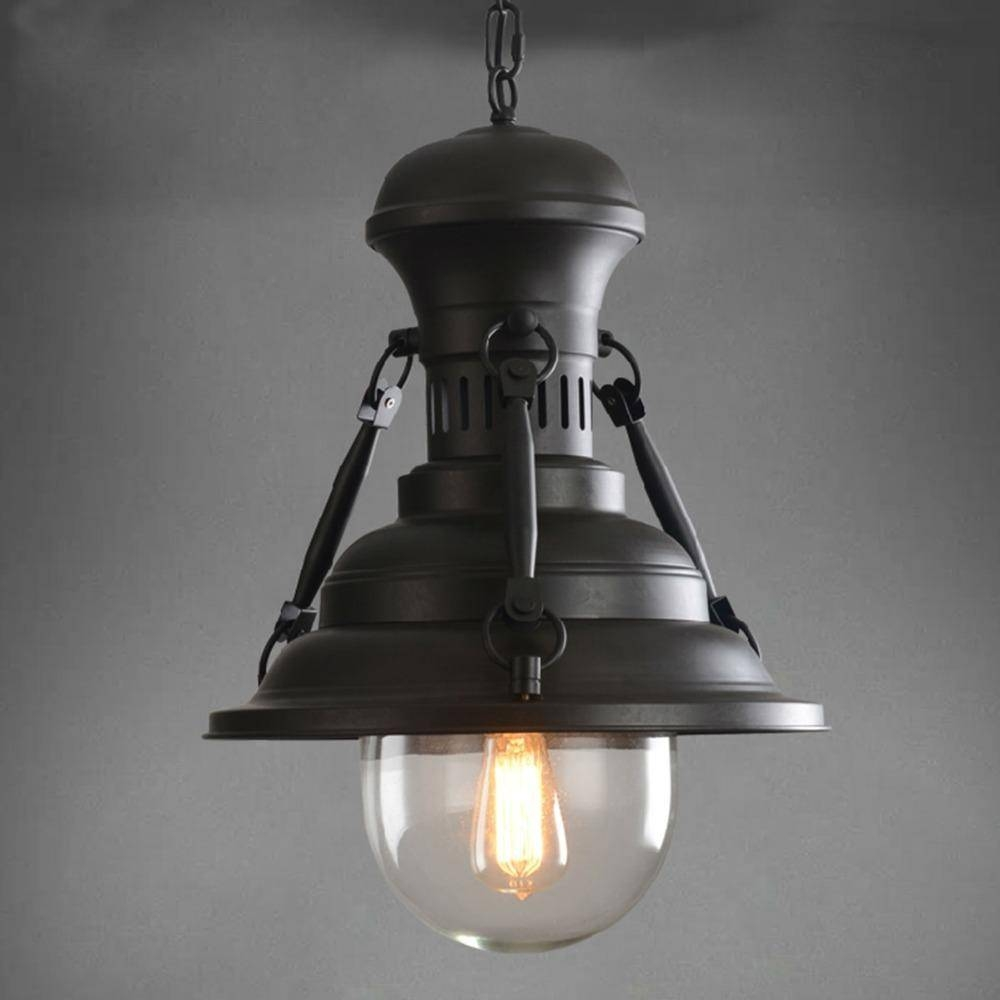 Discount Retro American Country Loft Pendant Light Industrial with Warehouse Pendant Light Fixtures (Image 1 of 15)