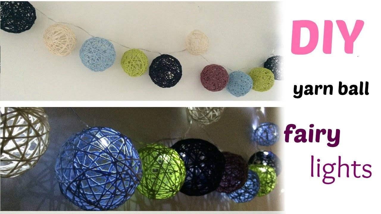 Featured Photo of Diy Yarn Lights