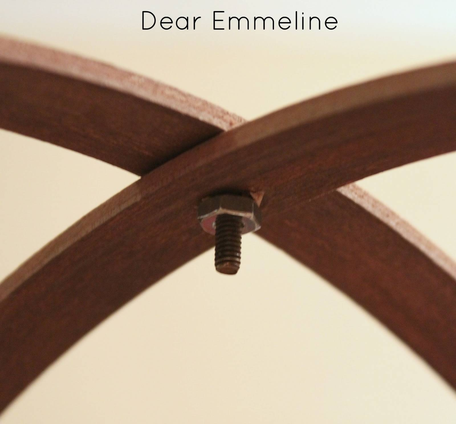 Diy Easy Embroidery Hoop Pendant with regard to Dodecahedron Pendant Lights (Image 9 of 15)