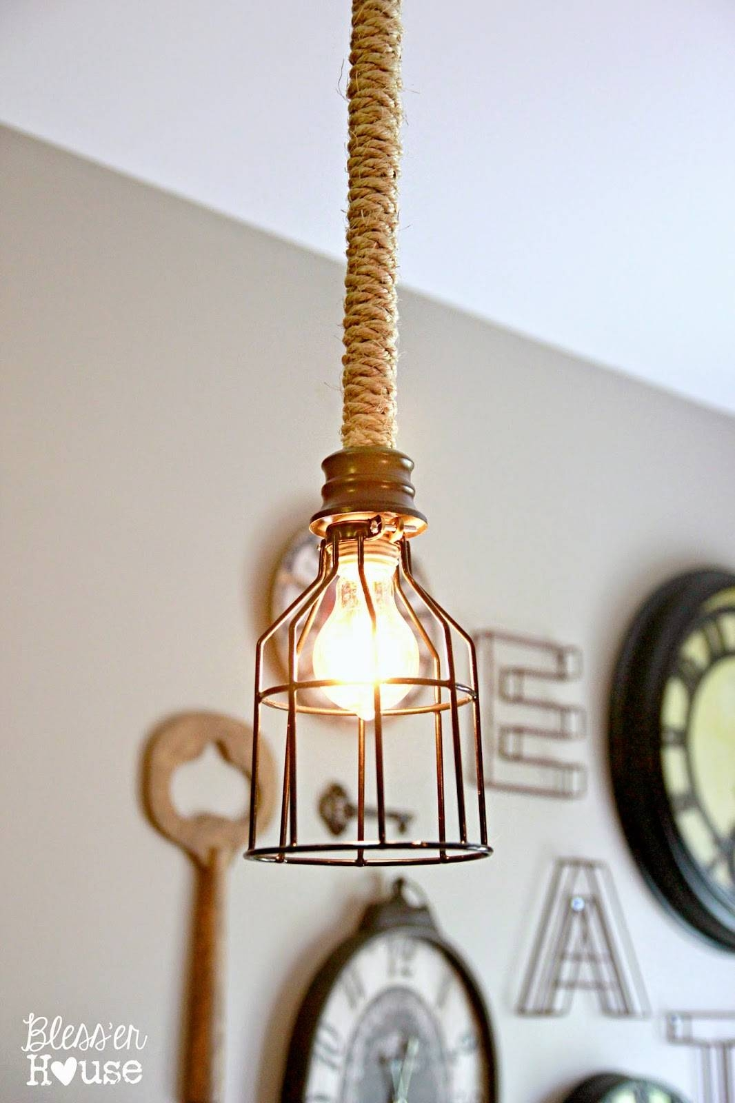 Diy Rope Cord Cover In 30 Minutes – Craftivity Designs in Cord Cover Pendant Lights (Image 9 of 15)