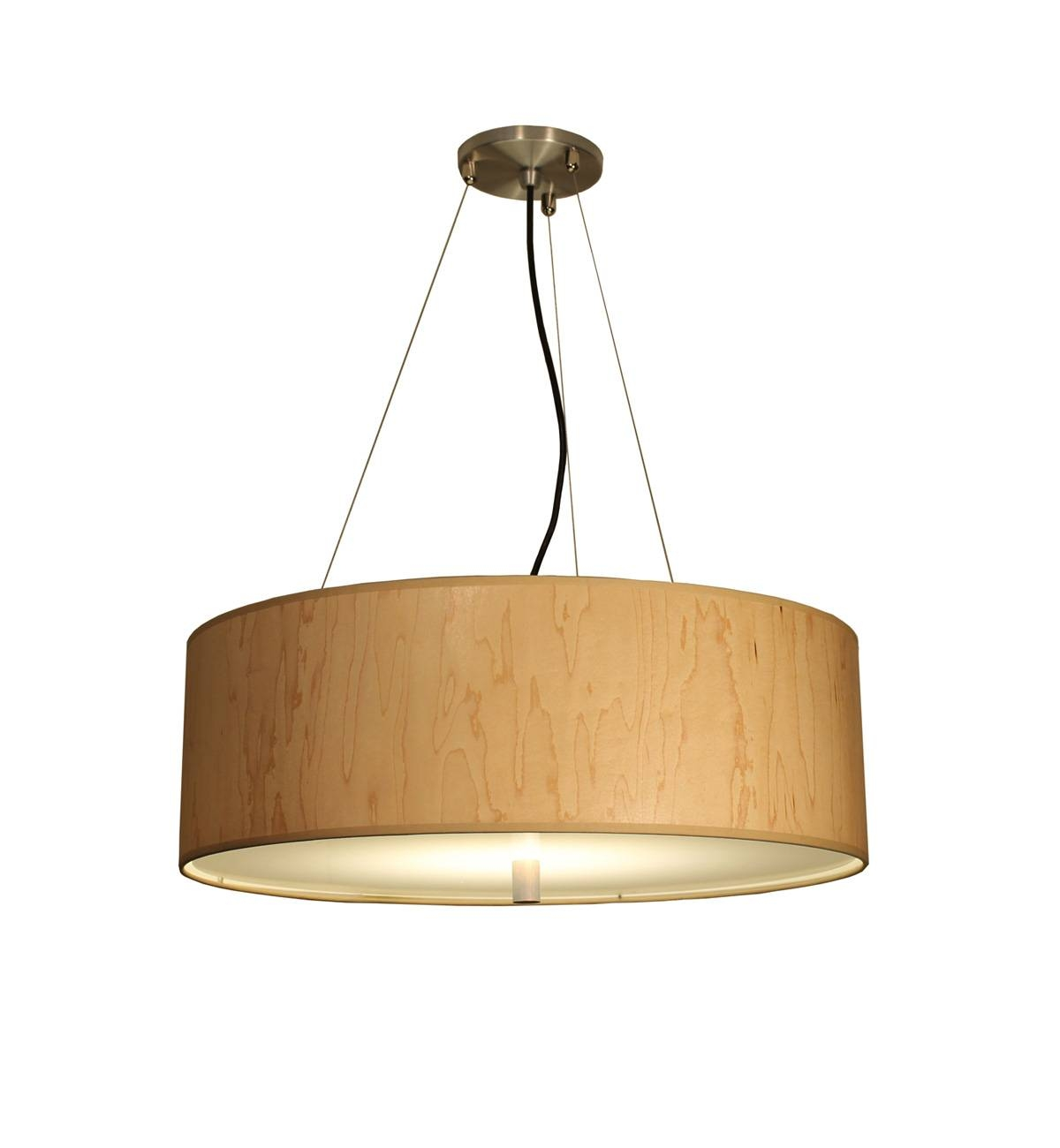 Donovan Lighting, Ltd. - Contemporary And Art Deco Lighting regarding Wood Veneer Pendant Lights (Image 5 of 15)