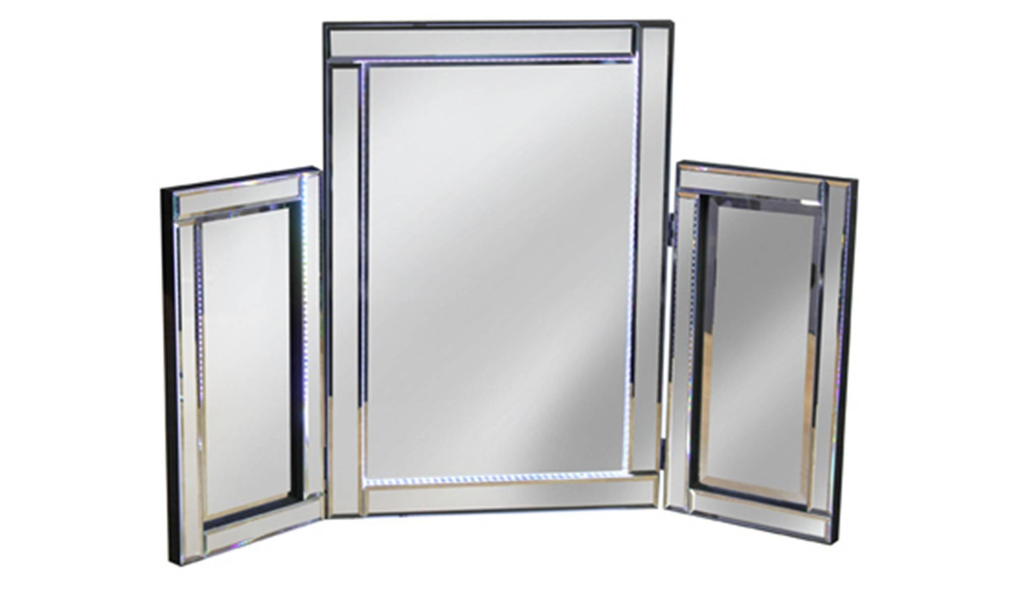 Dressing Table Mirrors & Vanity Mirrors – Fishpools With Regard To Silver Dressing Table Mirrors (View 7 of 15)