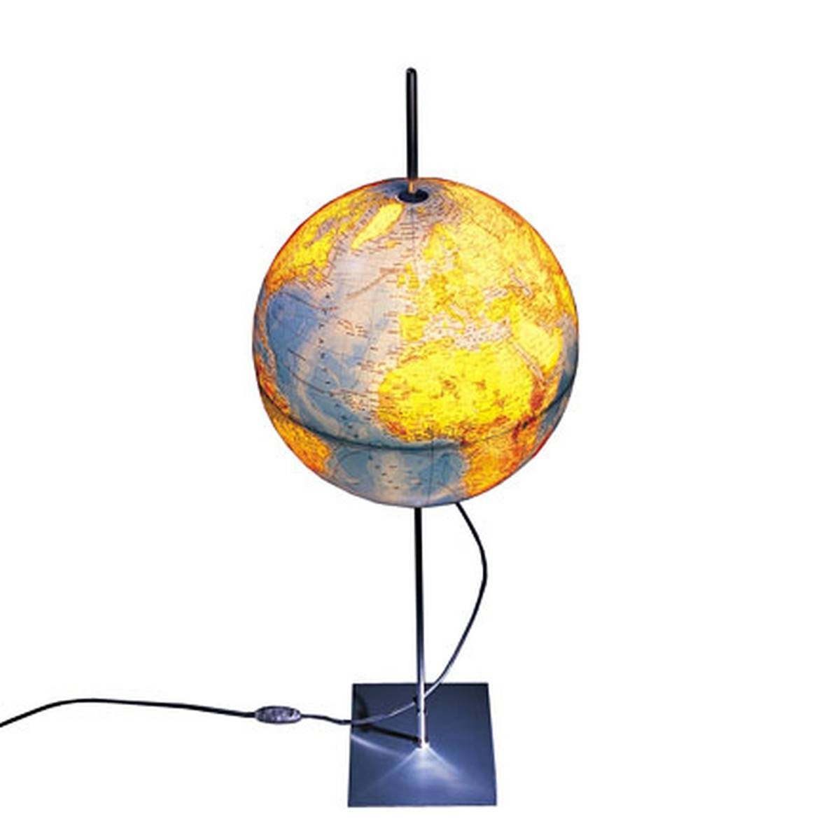 Earth Light Globeradius Design for Earth Globe Lights Fixtures (Image 5 of 15)