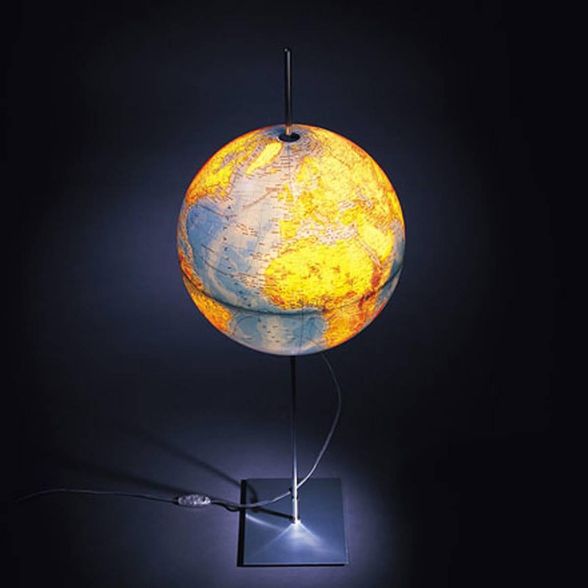 Earth Light Globeradius Design inside Earth Globe Lights Fixtures (Image 6 of 15)