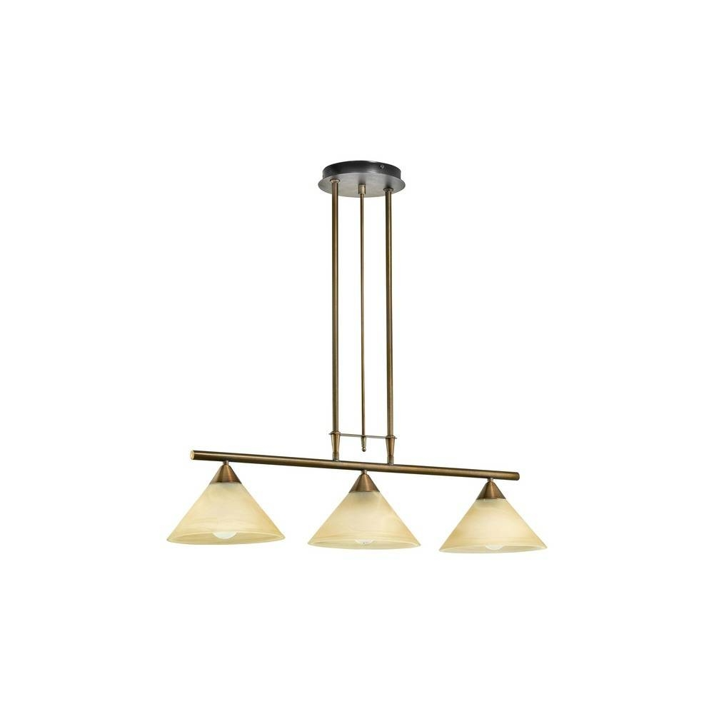 Eglo Lighting 89649 Madai 3 Light Rise And Fall Ceiling Pendant for Rise and Fall Pendant Lighting (Image 9 of 15)