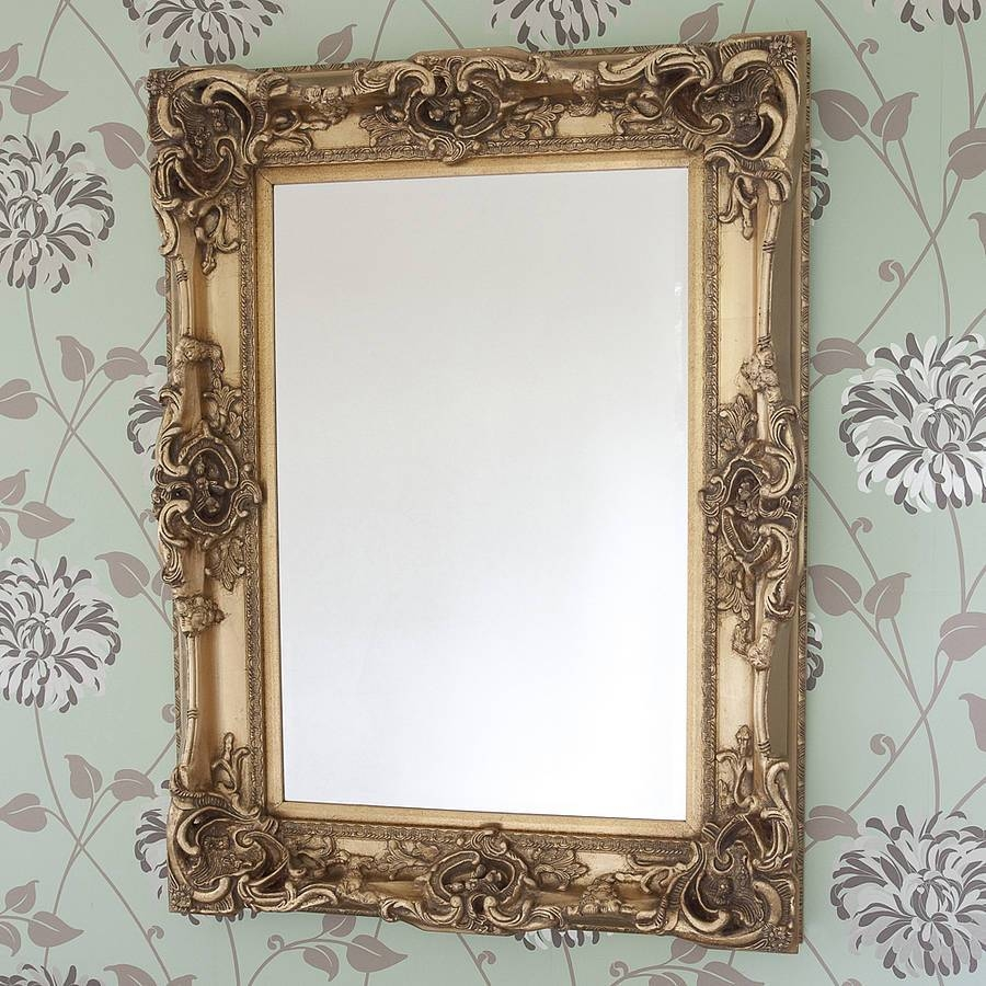 Elaborate Gold Mirrordecorative Mirrors Online With Elaborate Mirrors (View 4 of 15)