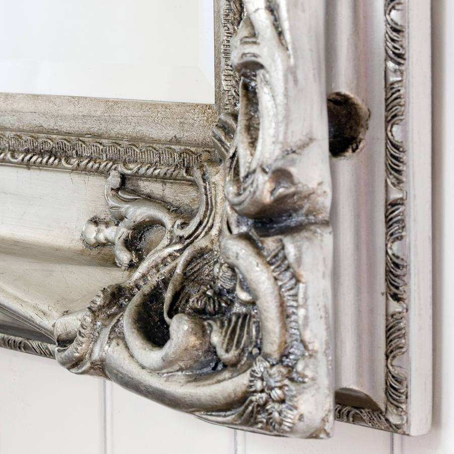 Elaborate Silver Mirrordecorative Mirrors Online In Elaborate Mirrors (View 8 of 15)