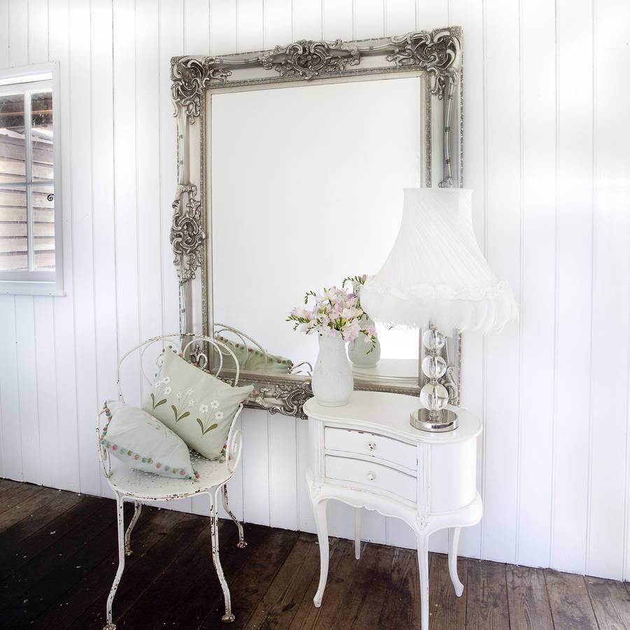 Elaborate Silver Mirrordecorative Mirrors Online Throughout Elaborate Mirrors (View 9 of 15)