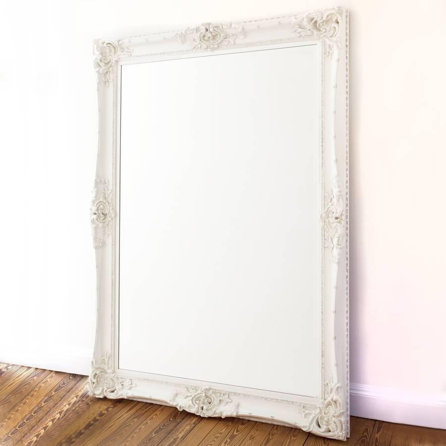 Elaborate White Mirrordecorative Mirrors Online Inside Elaborate Mirrors (View 11 of 15)