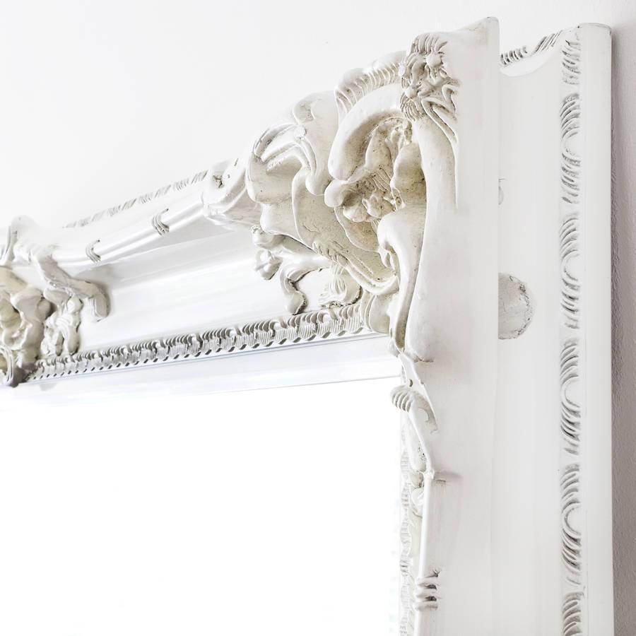 Elaborate White Mirrordecorative Mirrors Online regarding Elaborate Mirrors (Image 13 of 15)