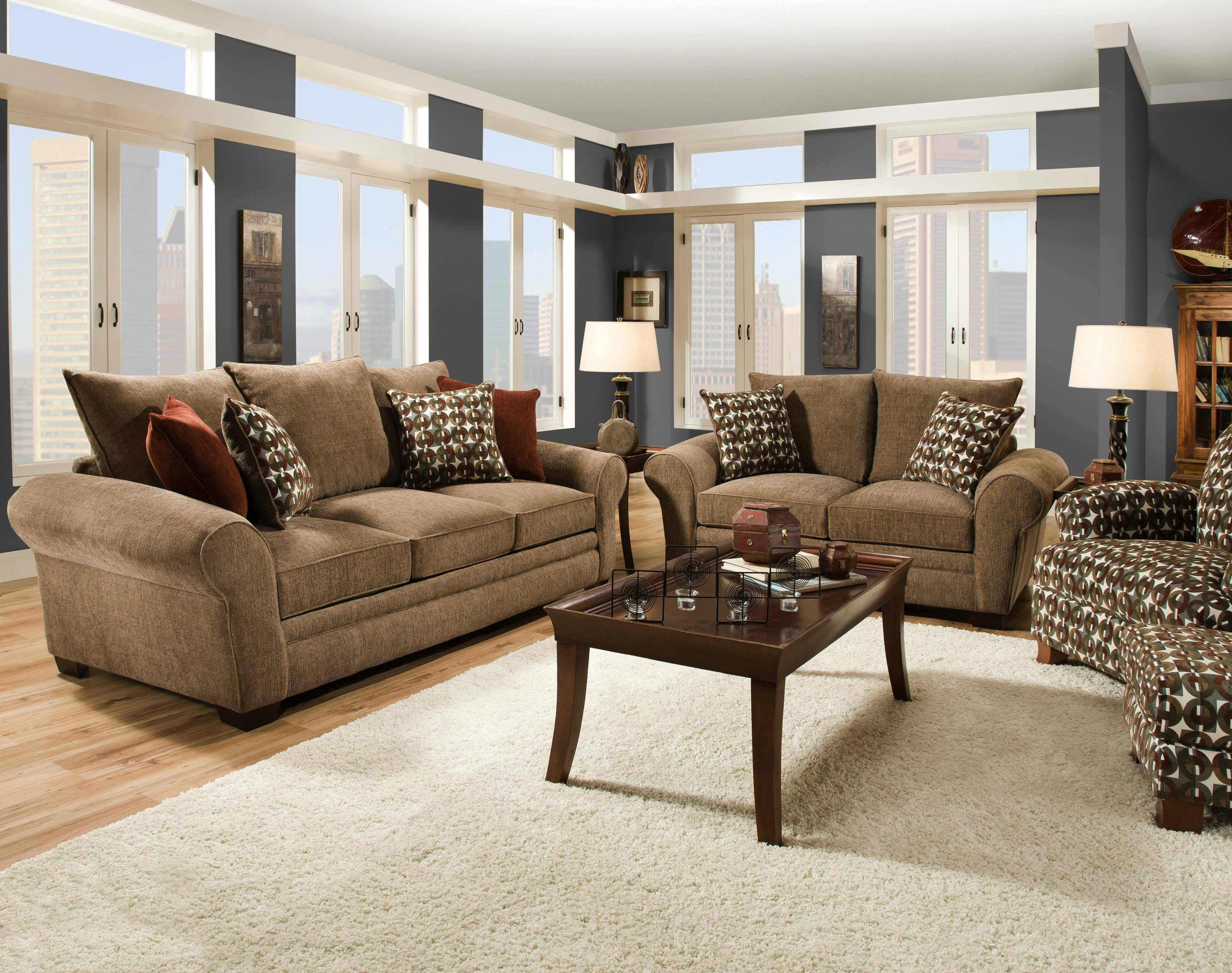 Elegant And Casual Living Room Sofa For Family Styled Comfort Pertaining To Casual Sofas And Chairs (View 11 of 15)