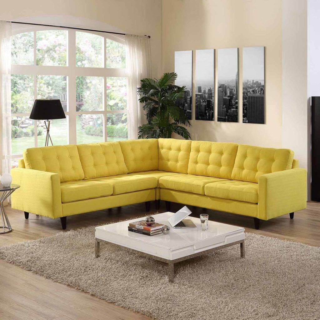Elegant Yellow Sectional Sofa 17 In Contemporary Sofa Inspiration Pertaining To Yellow Sectional Sofas (View 11 of 15)