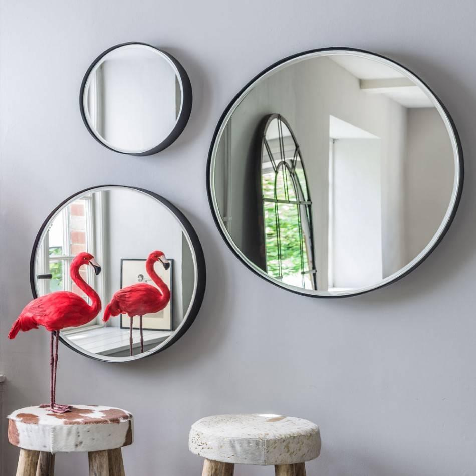 Eli Round Mirrors | Mirrors | Graham And Green regarding Round Mirrors (Image 3 of 15)