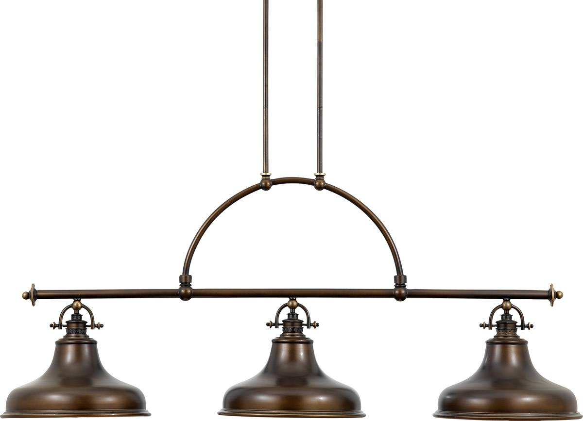 Emery 3 Light Island Pendant Light | Online Lighting within Industrial Pendant Lighting Australia (Image 4 of 15)