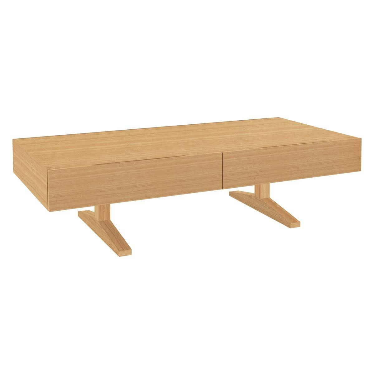 Enzo Oak Coffee Table With Storage | Buy Now At Habitat Uk intended for Oak Coffee Tables With Storage (Image 2 of 15)