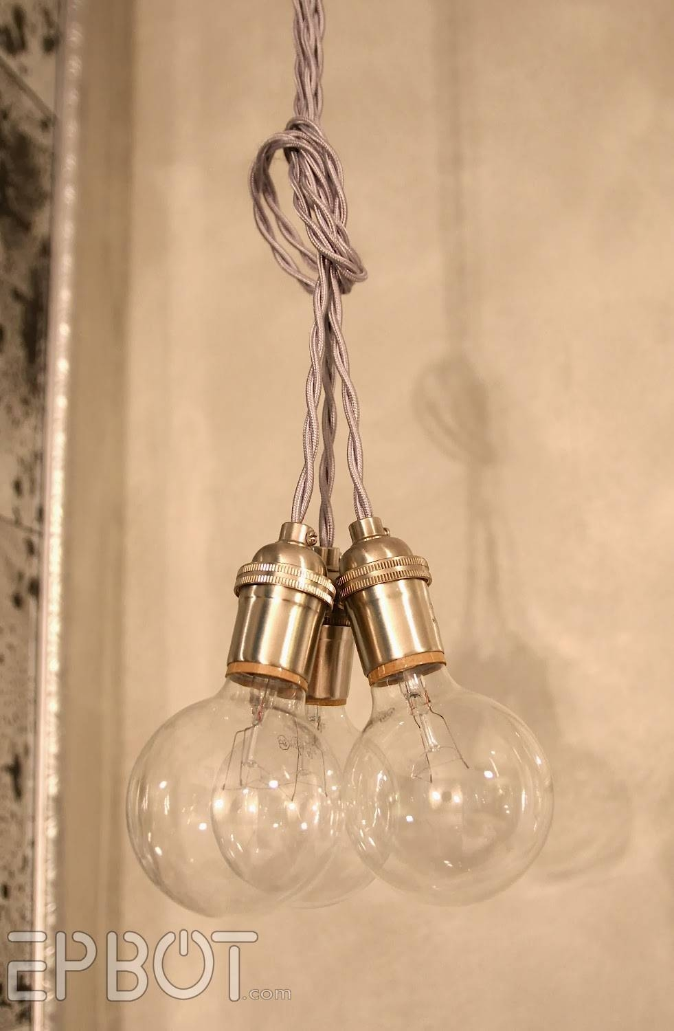Epbot: Wire Your Own Pendant Lighting - Cheap, Easy, & Fun! with regard to Bare Bulb Pendant Lights Fixtures (Image 9 of 15)