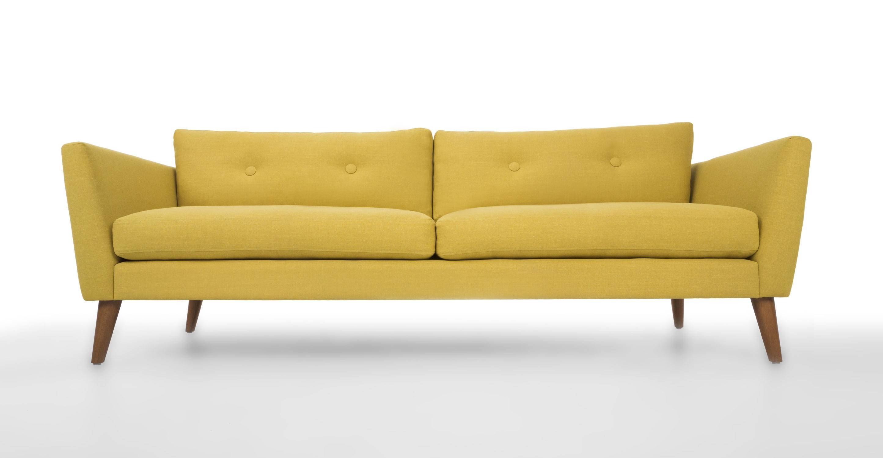 Epic Yellow Sofa 91 For Your Modern Sofa Ideas With Yellow Sofa within Chartreuse Sofas (Image 11 of 15)