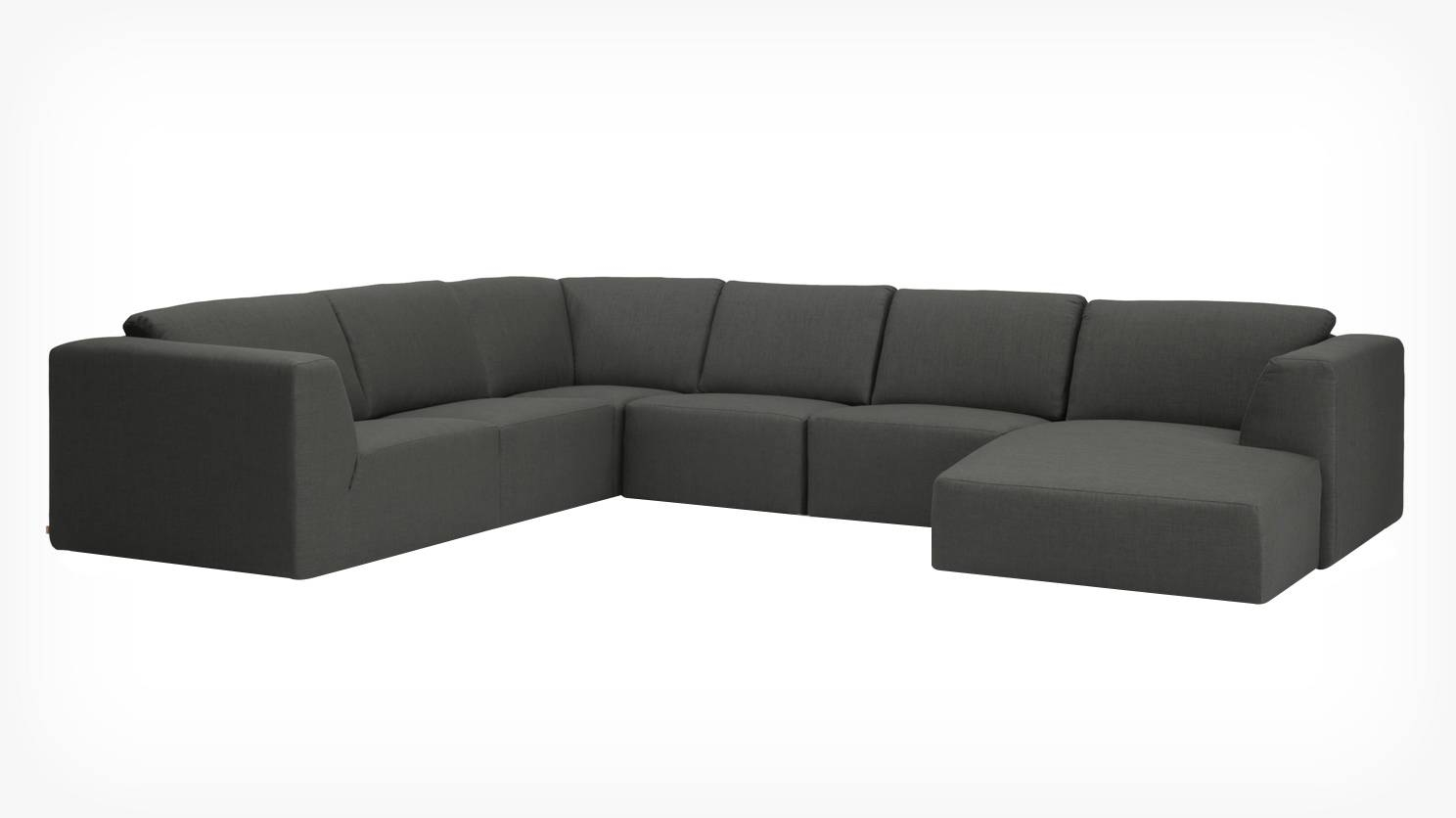Eq3 | Morten 6-Piece Sectional Sofa With Chaise - Fabric in 6 Piece Sectional Sofas Couches (Image 7 of 15)