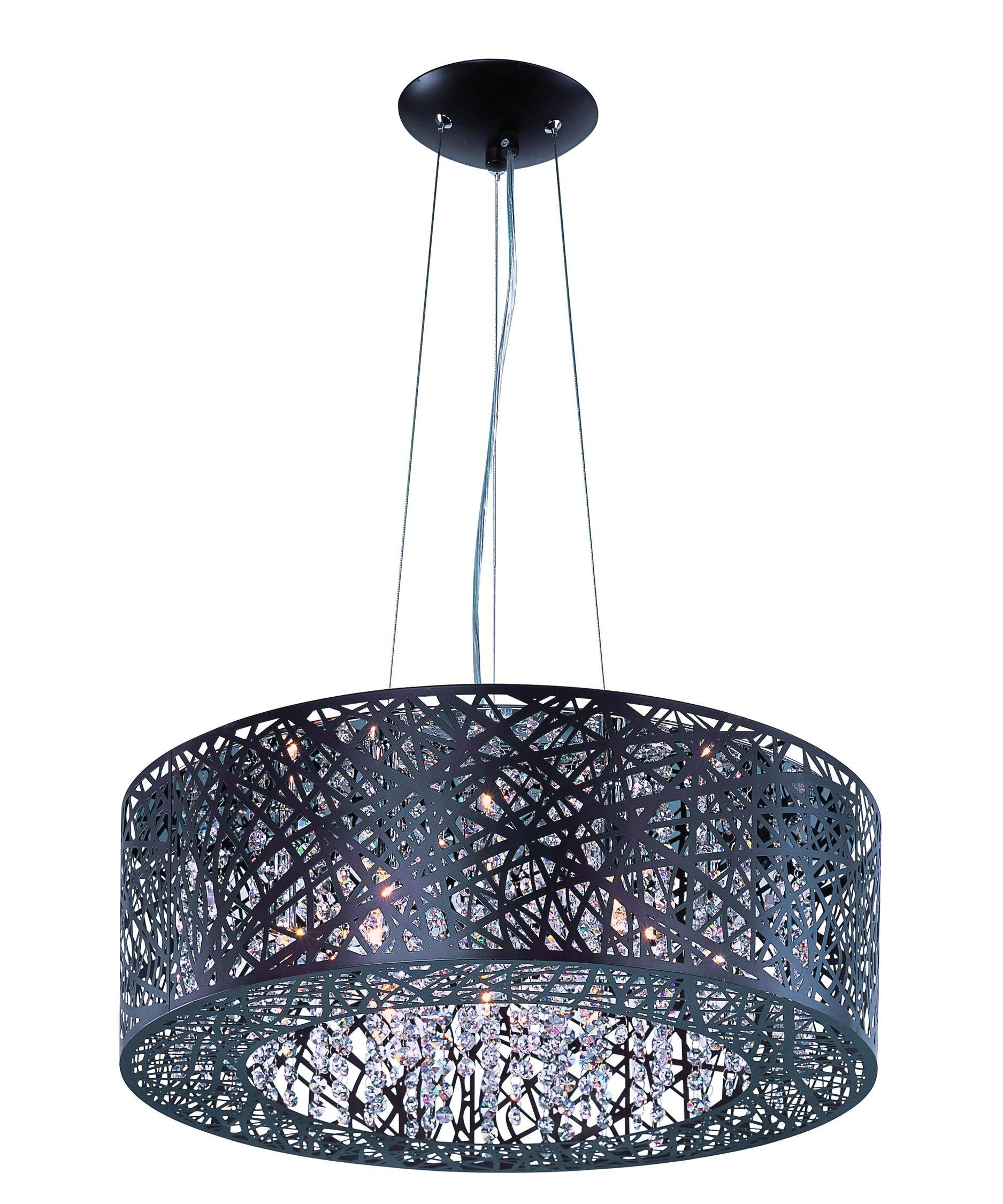 Et2 Lighting E21308 Inca 24 Inch Wide 9 Light Large Pendant Intended For Inca Pendant Lights (View 9 of 15)