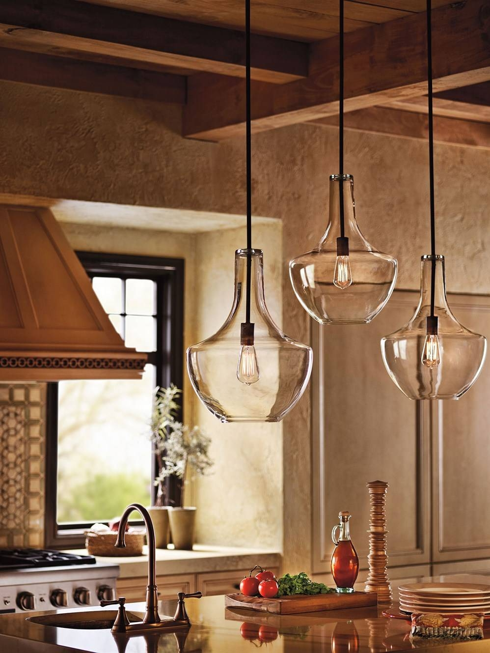Featured Photo of Kichler Pendant Lighting For Kitchen