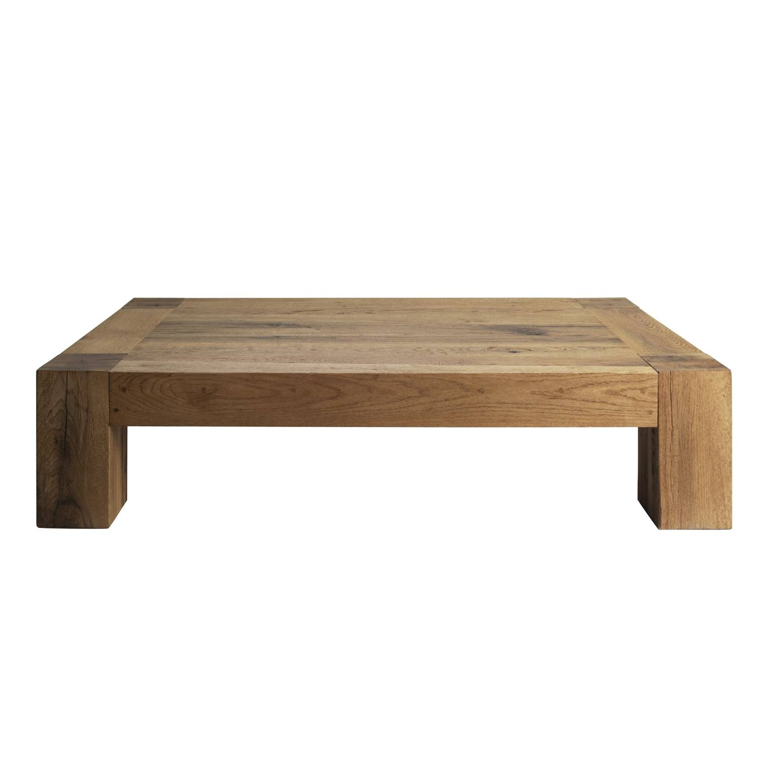 Extraordinary Low Coffee Table Wood For Your Modern Home Interior intended for Low Wood Coffee Tables (Image 5 of 15)