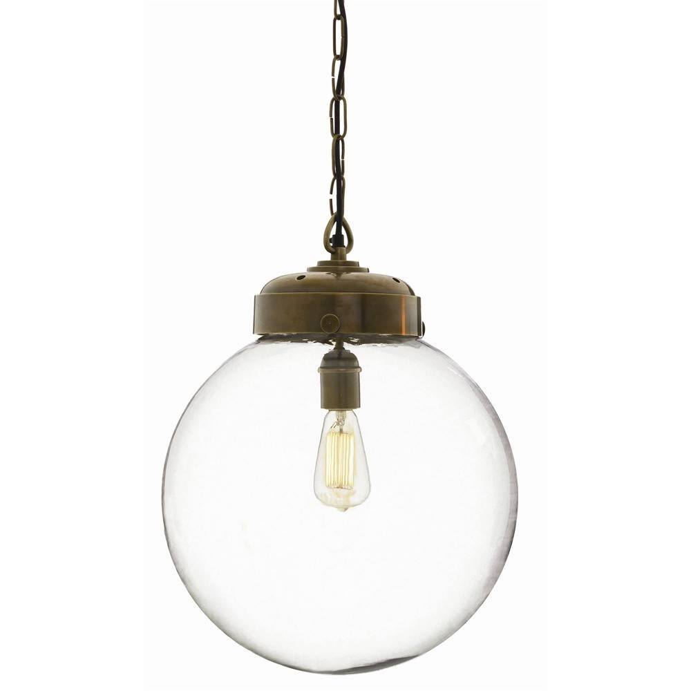 Fancy Glass Orb Pendant Light 14 For Your Clear Glass Pendant within Clear Glass Ball Pendant Lights (Image 8 of 15)