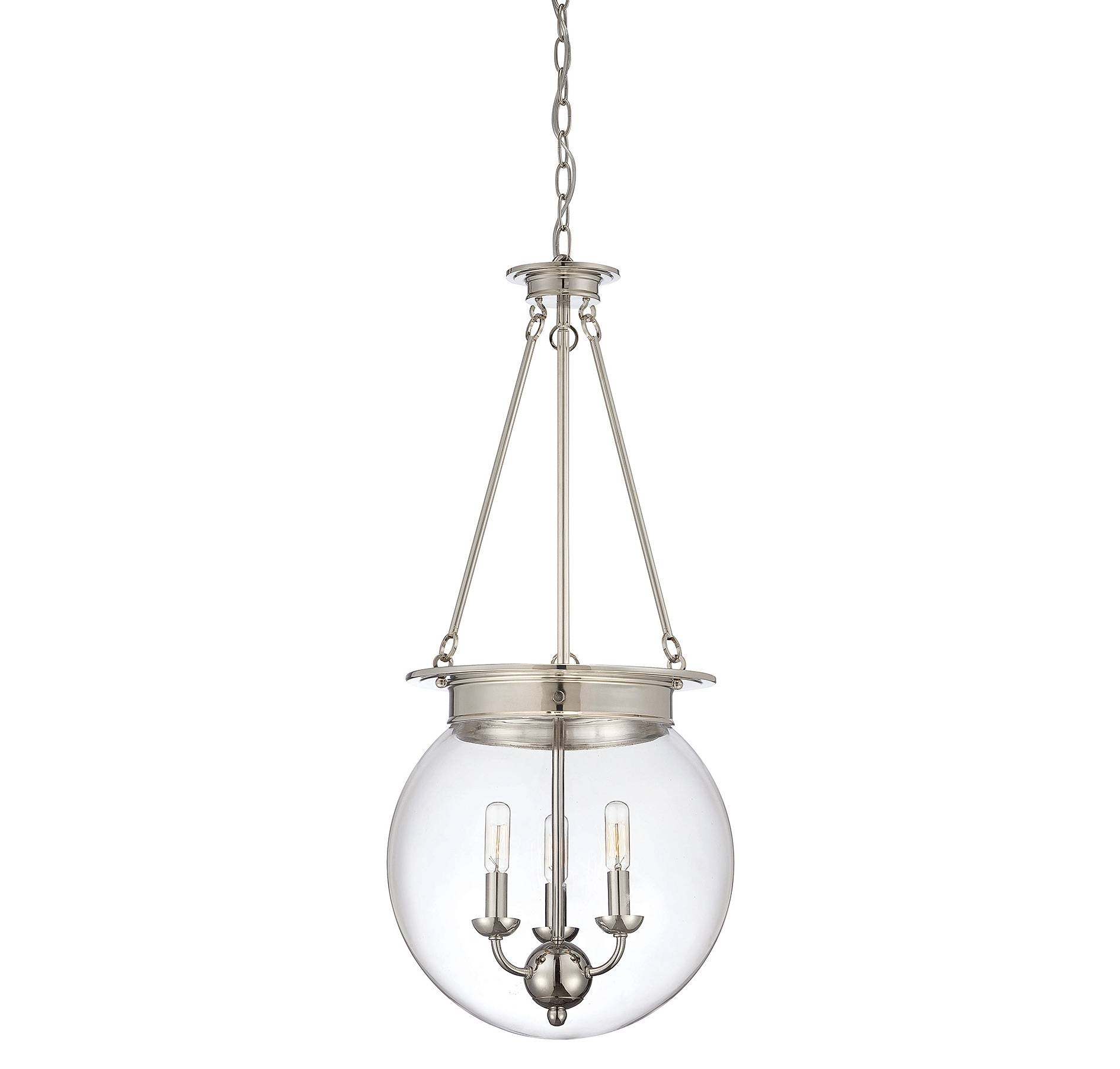 Fancy Glass Orb Pendant Light 28 With Additional Clear Glass Mini in Glass Orb Pendant Lights (Image 6 of 15)