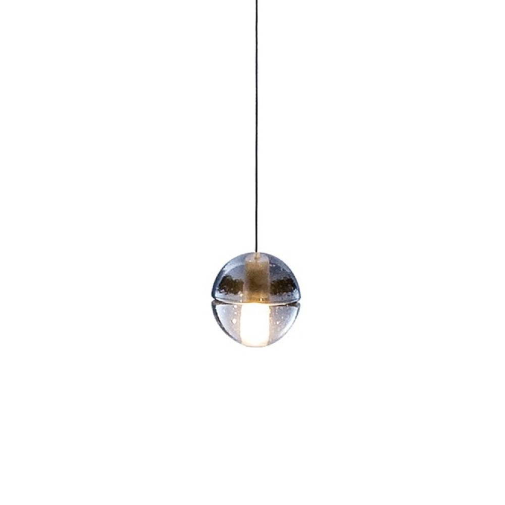 Fancy Glass Orb Pendant Light 28 With Additional Clear Glass Mini inside Glass Orb Pendant Lights (Image 7 of 15)