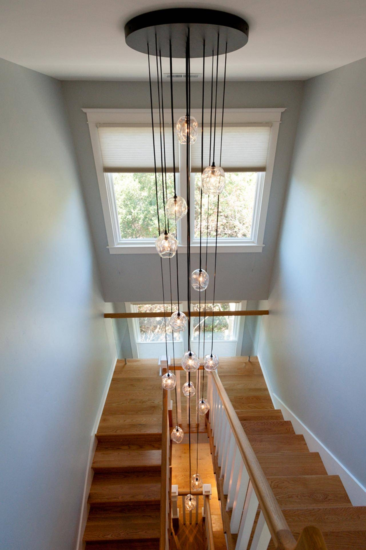 Fantastic Stairwell Lighting Ideas | John Robinson House Decor intended for Pendant Lights For Stairwell (Image 8 of 15)