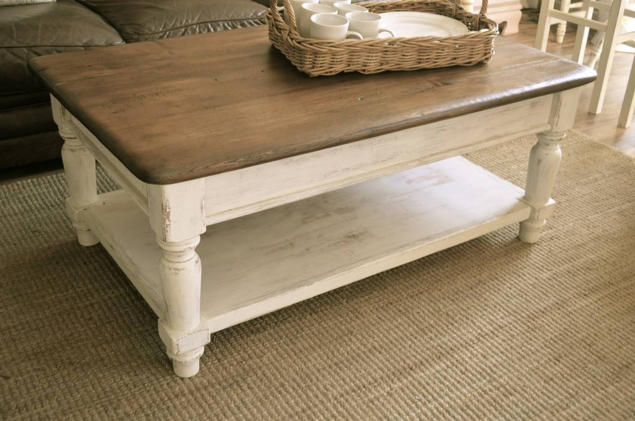 Farmhouse Coffee Table | Coffee Table Ideas intended for Farmhouse Coffee Tables (Image 6 of 15)
